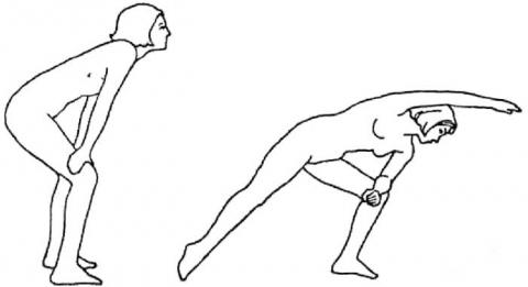 Бодифлекс упражнения «Боковая растяжка»